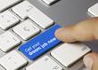 Get your dream job now keyboard key. Finger