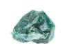 Mineralien: Verdit auf weißem Hintergrund