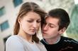 Relationship problem - couple portrait