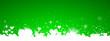 Grüner Hintergrund mit Herzen