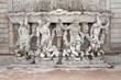 Brunnen im Schloss Belvedere