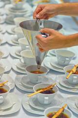Großküche Catering Vorbereitung