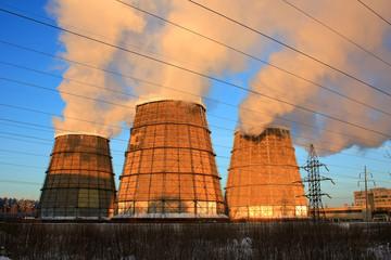 Градирни теплоэлектростанции