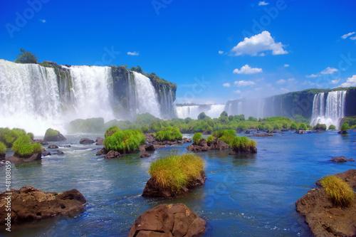 Fototapeten,brasilien,iguazú-wasserfälle,iguazú-wasserfälle,brasilien