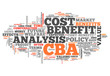 "Word Cloud ""Cost-Benefit Analysis"""