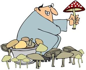 Mushroom hunter