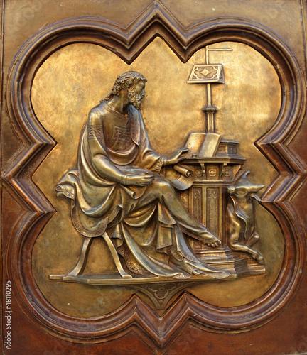 St Luke the Evangelist by Lorenzo Ghiberti - 48110295