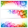 Bubble banners