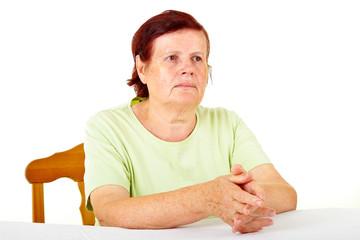 Schöne Seniorin