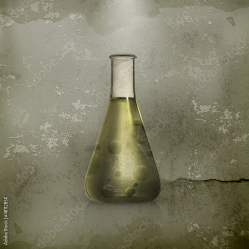 Laboratory flask, old-style