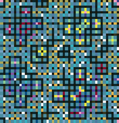 Motley decoration of squares and rectangles