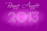 Bonne Année 2013 Disco Violet