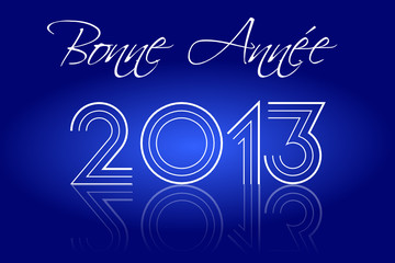 Bonne Année 2013 Disco Bleu