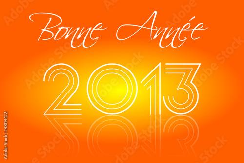 Bonne Année 2013 Disco Orange