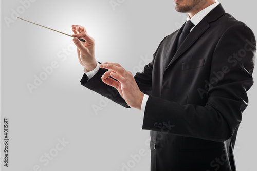 Orchestra leader - 48115617