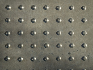 Metal studd texture background