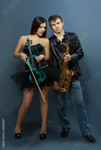 Couple of professional musicians