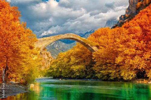 Zdjęcia na płótnie, fototapety, obrazy : Konitsa bridge