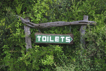 Toilets here