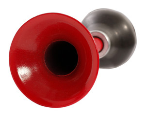 Red bulb trumpet