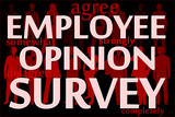 Employee opinion survey