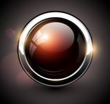 Fototapety Elegant shiny button