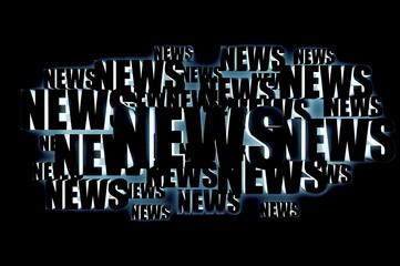 News 3d letters