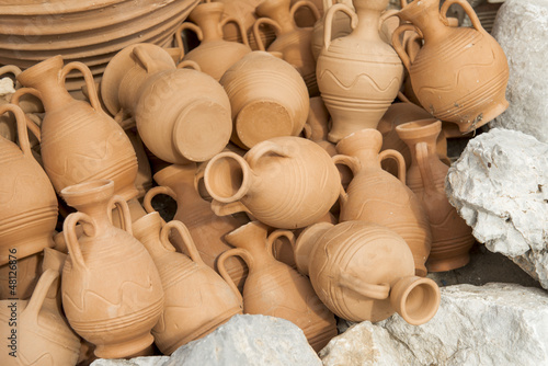 Greece ceramic pots