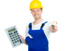 handwerker kalkuliert heizkosten