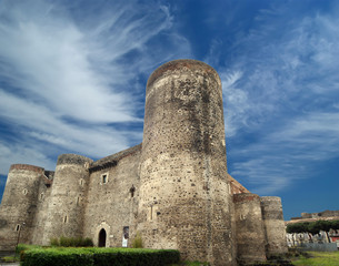Castello Ursino is a castle in Catania, Sicily, southern Italy