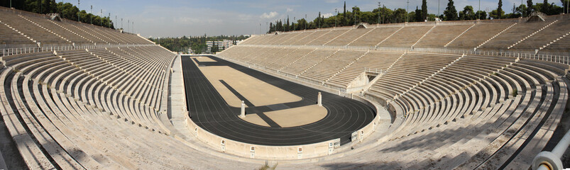 Panathenaic Olympic Stadium in Athens Greece