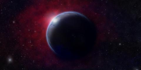 alba su un nuovo pianeta - dawn of a new planet