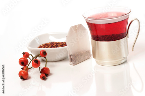 Tea of rose hip