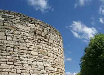 Ancient fortress town of Pula, Croatia