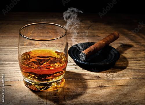 Whiskey und Zigarre