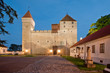 Kuressaare Fortress in a summer night
