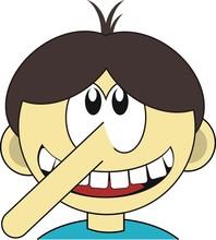 Pinokio - kłamcą