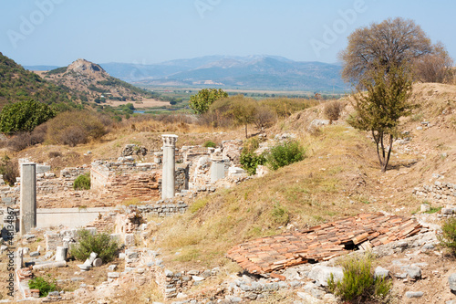 Ephesus Archaeological Site in Turkey
