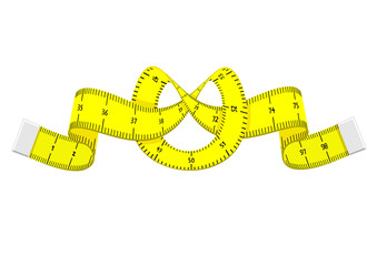 Cartoon measuring tape