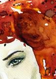 woman eye - 48137897