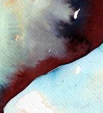 marine foncé bleu fond d'aquarelle