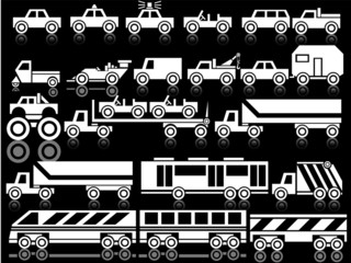 VARIOUS  VEHICLES WHITE