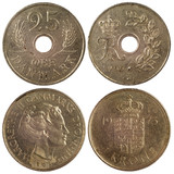 old rare coins of denmark