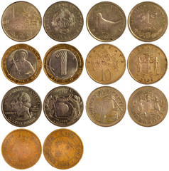 old rare coins of different countries