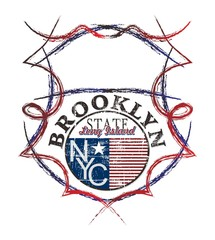 brooklyn art state shield