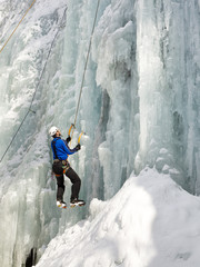 Ice Climbing in South Tyrol, Italy