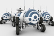 Vehicle - the space rover, a mobile laboratory