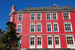 Rotes Haus in Norwegen