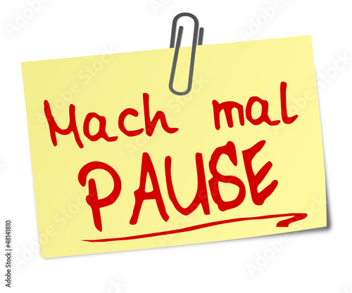Pause Post It  #130102-svg01