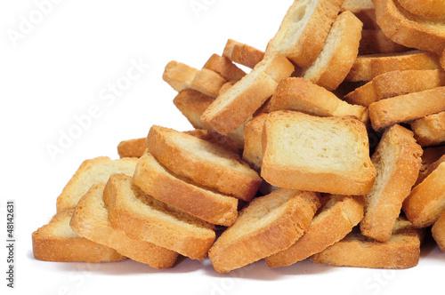 Fotobehang Brood mini toasts